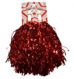 Paire de Pom Pom métal Rouge