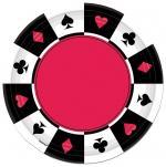Déguisements Assiettes en Carton Thème Casino