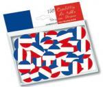 Déguisements Sachet de 150 confettis de table drapeau France