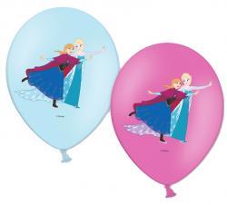 Sachet de Ballons La Reine des Neiges