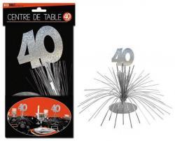 Décoration Centre de Table 40 ans