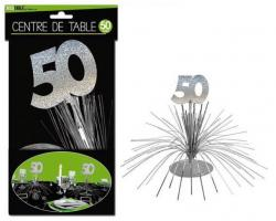 Décoration Centre de Table 50 ans