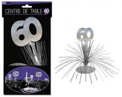 Décoration Centre de Table 60 ans