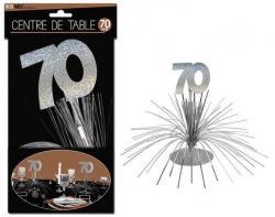 Décoration Centre de Table 70 ans