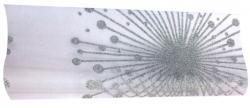 Chemin de table aux motifs organza de couleur Argent