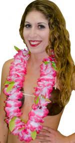 Déguisements Collier hawaï luxe en tissu
