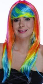 Perruque Françoise Multicolore