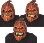 Masque adulte citrouille effrayante