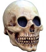 Masque Tête de Mort beige en latex