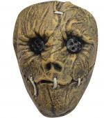 Masque d'épouvantail en latex