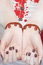 Déguisements Bracelets veines coupées sanguinolantes
