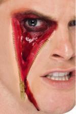 Prothèse en Latex Cicatrice fermeture éclair