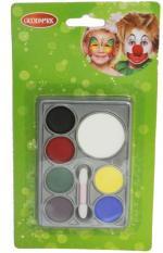 Palette maquillage fard gras 7 couleurs