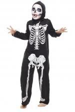 Déguisement tunique squelette
