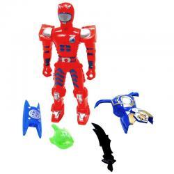 Figurine Robot plus accessoires