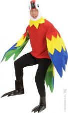 deguisement perroquet homme