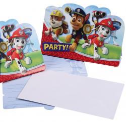 Cartes Invitation Pat Patrouille