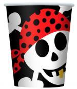 Déguisements Gobelets Anniversaire Pirate