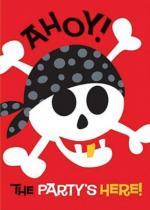 Cartes Invitation Anniversaire Pirate