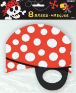Masques Carton Pirate