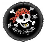 Déguisements Ballon pirate en aluminium