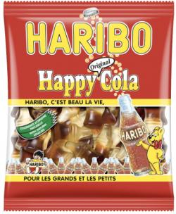 Mini Sachet de Bonbons Happy Cola Haribo