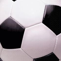 16 Serviettes ballon de football