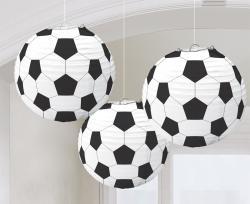 Lanternes Ballons de Football