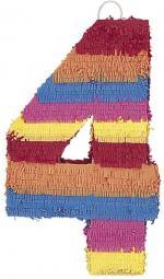 Pinata Chiffre 4