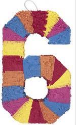 Pinata Chiffre 6