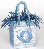 Déguisements Poids à ballon baby shower éléphant bleu