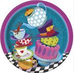 Déguisements 8 Assiettes anniversaire tasses et compagnie