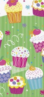 Déguisements Nappe anniversaire Cupcake