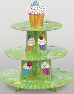 Présentoir à Cupcake Vert