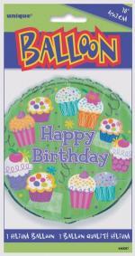 Ballon aluminium Cupcake