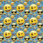 Papier cadeau Emoji Smiley