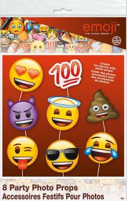 Accessoires pour photos Emoji Smiley