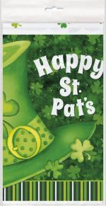 Déguisements Nappe plastique chapeau Saint Patrick