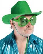 Déguisements Lunettes mouche verte en plastique