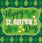 Déguisements 16 Serviettes arlequin Saint Patrick
