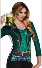Chemise photoréaliste Saint Patrick Irlandaise