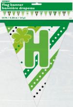Guirlande drapeaux en papier Saint Patrick