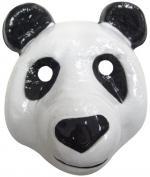 Masque panda en plastique
