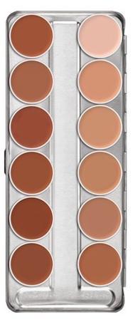 Palette fard gras 12 couleurs supracolor