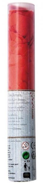 Déguisements Canon à confettis coeur rouge