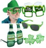 Lunettes Saint Patrick : lot de 5 lunettes