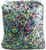 Déguisements confettis multicolores dépoussiérés 100 g