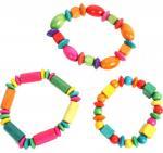 Bracelet Perles en bois assorti