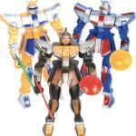 Déguisements Robot Articulé plus armes