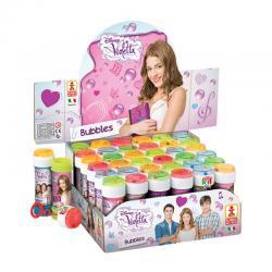 Bulle de savon + jeu de patience Violetta